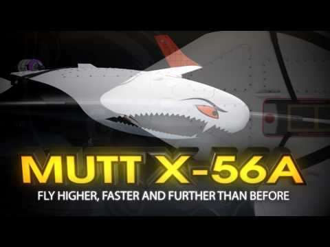 X-56A: Breaking the Flutter Barrier