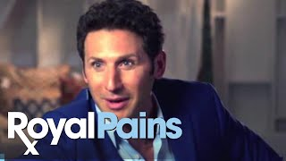 Royal Pains - Paulo's Prank On Set - Season 7 Premieres Tue June 2 at 10/9c