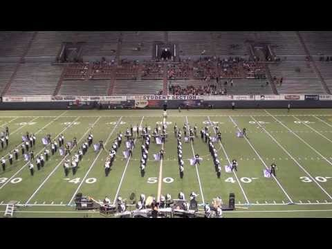2013 Mt. Spokane High School Marching Band - Lewis and Clark Football Game