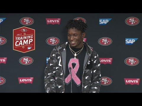 Rashard Robinson On Joint Practices With Denver Broncos