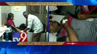 21 injured as TSRTC Garuda Bus topples in Anantapur