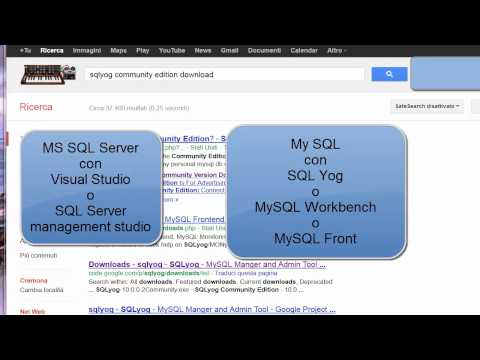 Corso SQL (SQL Server e MySQL) ITA - 1