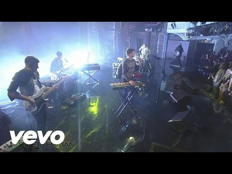 Foster The People - Life On The Nickel (Live @ Letterman)