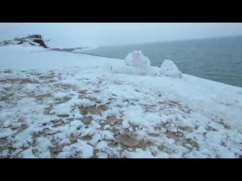 Cape Cod's coolest snow sculptures