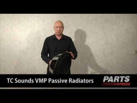TC Sounds VMP Passive Radiator Line