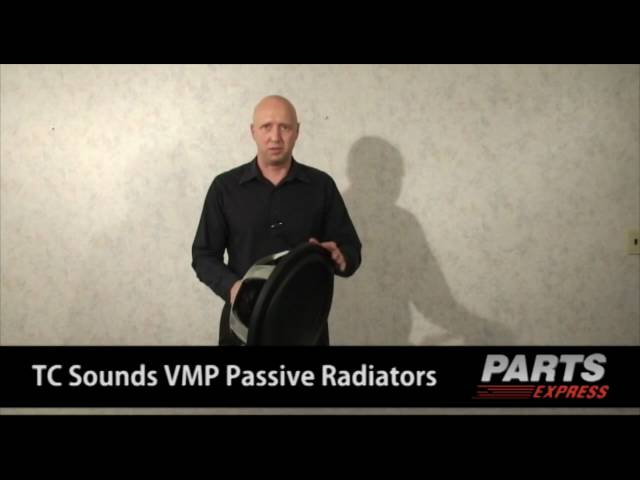 TC Sounds VMP Passive Radiator Line
