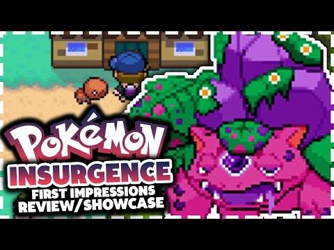 Pokemon Insurgence - Pokemon Fan Game Review/Showcase