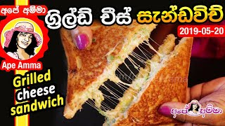 Grilled cheese sandwich by Apé Amma