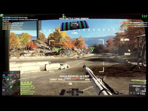 Battlefield 4 moments - Ultimate Tank Flank