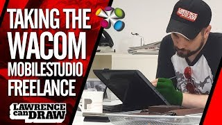 Freelance with the Wacom MobileStudio Pro
