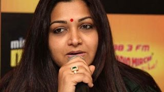 A.M.R. Ramesh Angry about Kushboo's Interruption