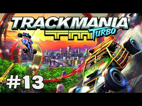 Lets Play TRACKMANIA TURBO Deutsch Part 13 1080p 60fps ツ Red Series: Canyon