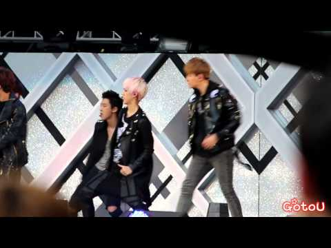 130511 EXO - MAMA @ Dream Concert (BaekHyun focus)