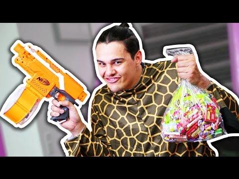NERF Candy Thief Challenge!