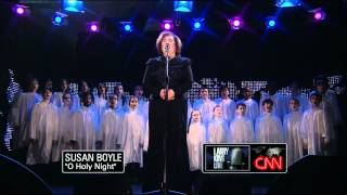 Susan Boyle O Holy Night Larry King Live December 2010