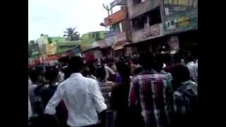 Thalaiva - RAkki cinemas protest for THALAIVA MOVIE 4 !