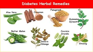 8 Diabetes Herbs Lower Blood Sugar & A1C!