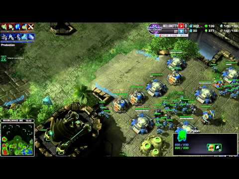 Hellokitty vs XY - Game 2 - WCS AM Challenger League Round 1