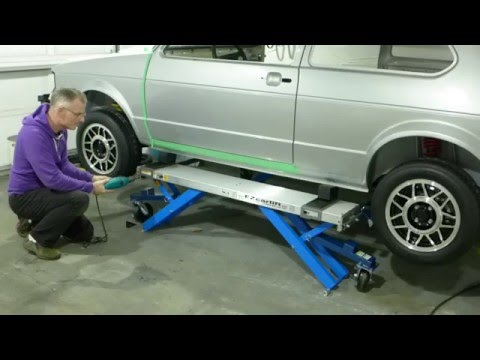 EZCarLift Automotive portable lift system review (5 stars!)