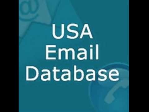 USA B2B Email List & B2C E-mail database purchase