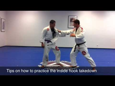 Jiu Jitsu tips On Inside Hook Takedown | Gracie Barra Martial Arts Dana Point CA Image 1