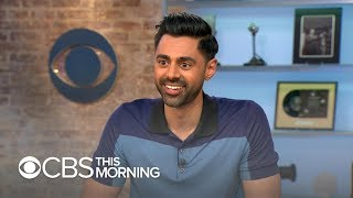 "Hasan Minhaj of ""Patriot Act"" on using comedy to help the country heal"