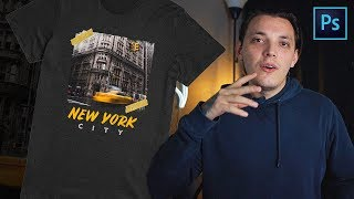 How To Make Your First Shirt Design In Photoshop For Free