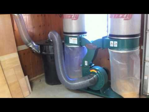 Dust collection with a Thien Cyclone Separator and a short shop tour