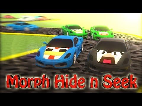 Minecraft   MORPH HIDE AND SEEK - FERRARI & LAMBORGHINI MOD! (SPORTS CARS MOD)!