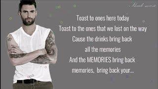 Maroon 5 - Memories [Lyrics]