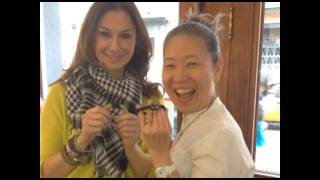 Chick Finds - 2-in-one hair bands YoungHee Salon in NYC with Tiffany Paige