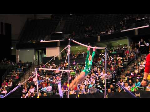 Victoria Kayen Woo - Uneven Bars Finals - 2012 Kellogg&#039;s Pacific Rim Championships - 2nd