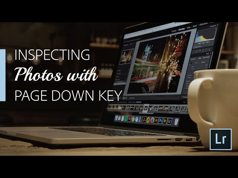 Lightroom Coffee Break: Inspecting Photos with Page Down Key