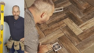 (19.6 MB) How To Install A Herringbone Tile Shower Floor Mp3