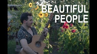 Download Ed Sheeran  Beautiful People feat Khalid  Fingerstyle Guitar Cover MP3