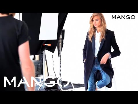 Anna Selezneva for MANGO FW2013 - The making of