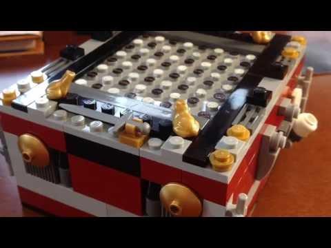 My Custom Lego Chess Set Review (обзор) Самодельные Лего Шахматы!