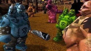 Warcraft 3 - Ogre Crossroads (4v4 #24)