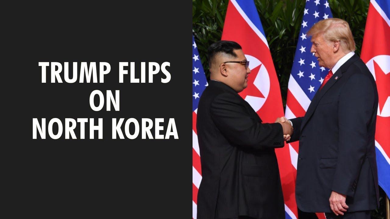 Trump says North Korea still extraordinary threat