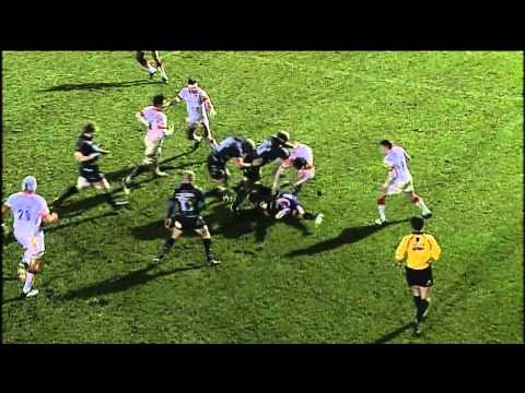 Worcester Warriors vs Saracens 12 - 3 | Aviva Premiership Rugby 2012/13