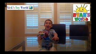 Ryan ToysReview | Ryan's World | NEW Blind Bag TOY Unboxing  | Nick's Toy World