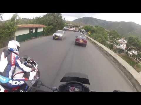 Vuelta TT 2013 Gopro Kawasaki Dagua-Cali  Versys 1000