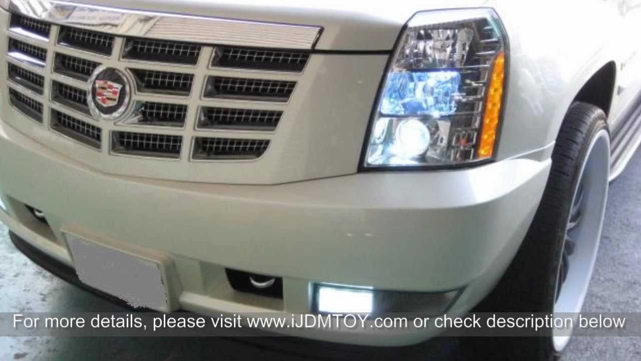 2011 Cadillac Escalade Headlights