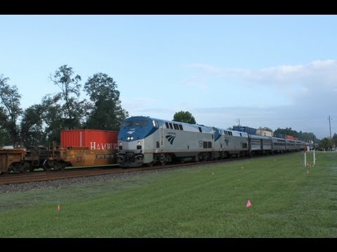 (HD Railfanning Folkston, GA & Heading for Home Featuring UP 10-14-2012