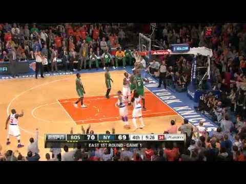 Boston Celtics vs New York Knicks - Playoffs Game 1