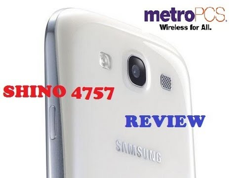 Samsung Galaxy SIII REVIEW MetroPCS @Shino4757