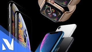 Das ist das neue iPhone Xs, iPhone Xs Max & iPhone Xr + Apple Watch Series 4 | Nils-Hendrik Welk