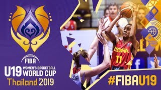 Germany v Spain - Full Game - FIBA U19 Women's Basketball World Cup 2019