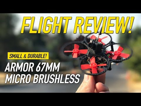 MAKERFIRE ARMOR 67MM - 2S Carbon Whoop - Honest Review