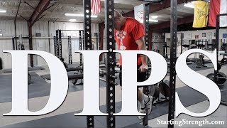 How to do Dips with Mark Rippetoe
